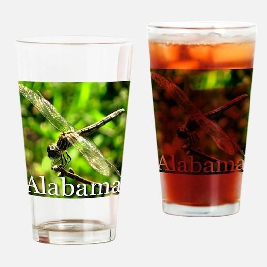 I Love Alabama Drinking Glass