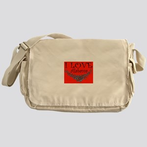 I Love Alabama Hot Affair Messenger Bag