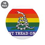 Rainbow Gadsden Flag 3.5