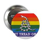 Rainbow Gadsden Flag 2.25