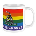Rainbow Gadsden Flag Mugs