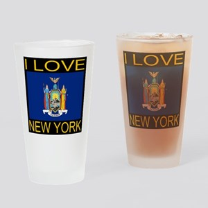 I Love New York Drinking Glass