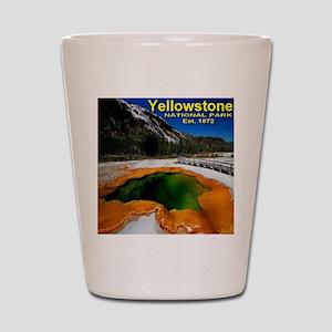 Yellowstone National Pa Shot Glass