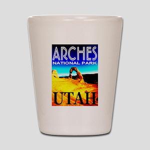 Arches National Park, Utah Shot Glass