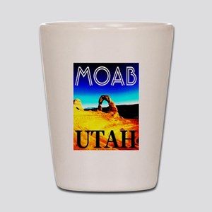 Moab, Utah Shot Glass
