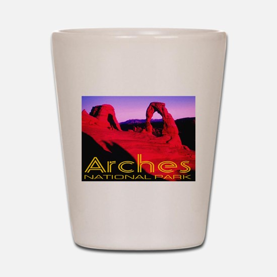 Arches National Park Shot Glass