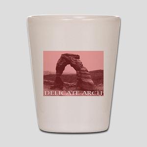 Delicate Arch, Utah Shot Glass
