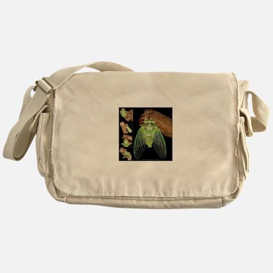Metamorphosis of Cicadas Messenger Bag