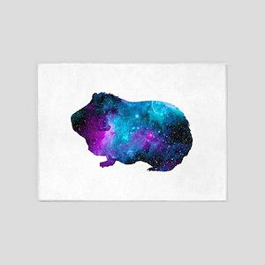 Galactic Guinea Pig 5'x7'Area Rug