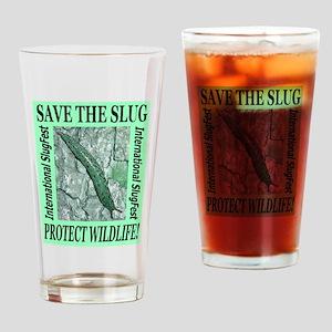 Save the Slug! Protect Wildli Drinking Glass