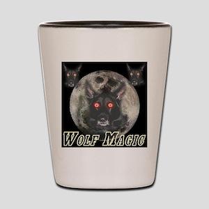 Wolf Magic Shot Glass