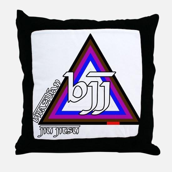 BJJ - Brazilian Jiu Jitsu - C Throw Pillow
