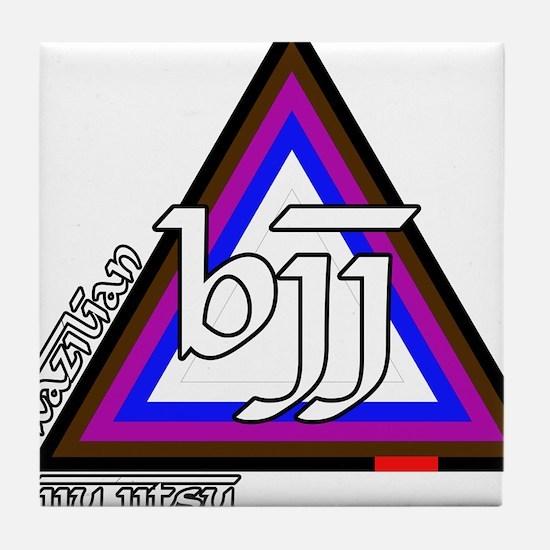 BJJ - Brazilian Jiu Jitsu - C Tile Coaster