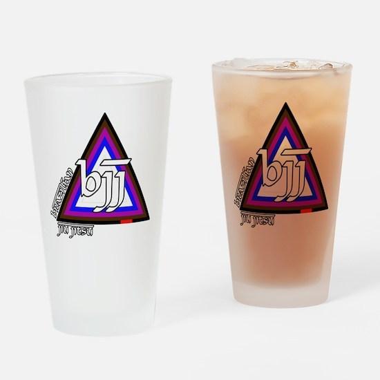 BJJ - Brazilian Jiu Jitsu - C Drinking Glass