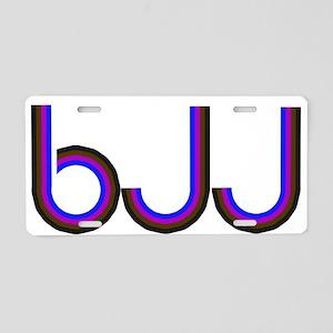 BJJ - Brazilian Jiu Jitsu - C Aluminum License Pla