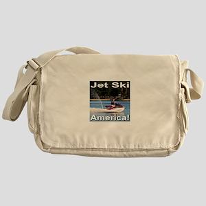 Jet Ski America Messenger Bag