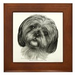 Shih Tzu Framed Tile
