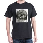 Shih Tzu Black T-Shirt