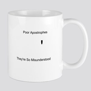 Apostrophe Misunderstood Mug