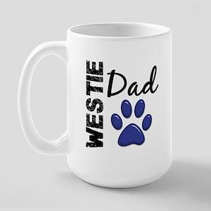 Westie Dad 2 Large Mug