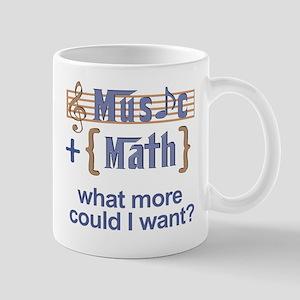 Music plus math Mug