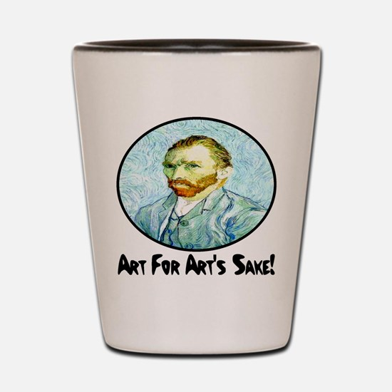 Van Gogh Art For Art's Sake Shot Glass