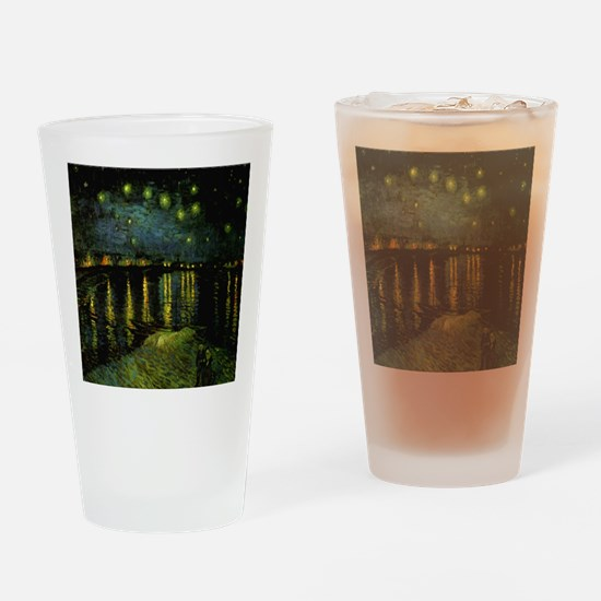 Digitally remastered Starry N Drinking Glass