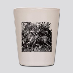 Knight & Devil Durer 1471-1528 Shot Glass