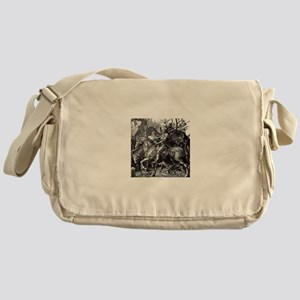 Knight & Devil Durer 1471-1528 Messenger Bag