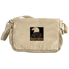 Support America Messenger Bag