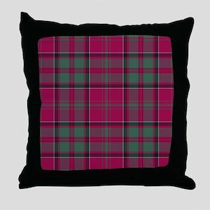 Tartan - MacDonald of Glencoe Throw Pillow