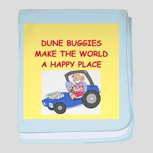 dune buggies baby blanket