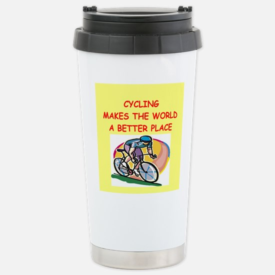 cycling Stainless Steel Travel Mug