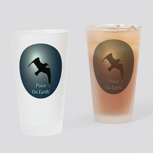 Peace on Earth Seal Drinking Glass