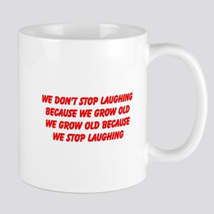 growing old merchandise Mug