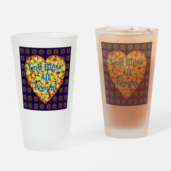 Universal Blessing #2 Drinking Glass