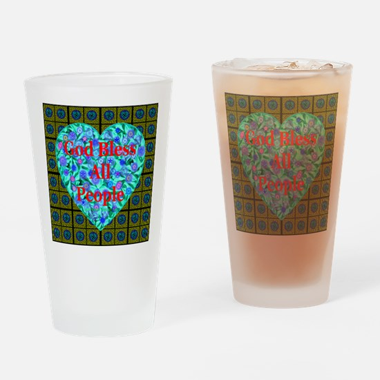 Universal Blessing #10 Drinking Glass