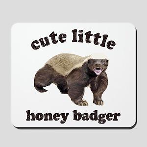 Cute Lil Honey Badger Mousepad