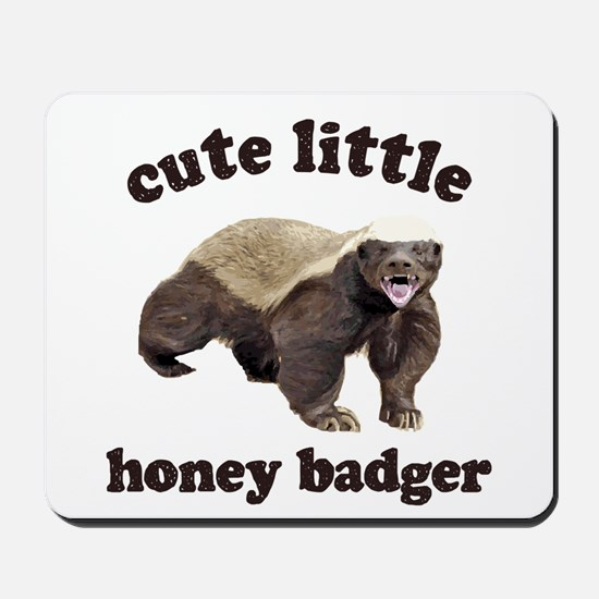 Cute Lil Honey Badger Mousepad