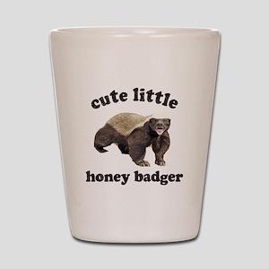 Cute Lil Honey Badger Shot Glass