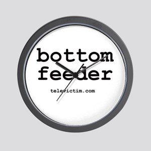 """bottom feeder"" Wall Clock"