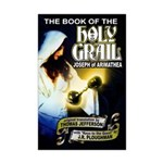 Book of the Holy Grail Mini Poster Print