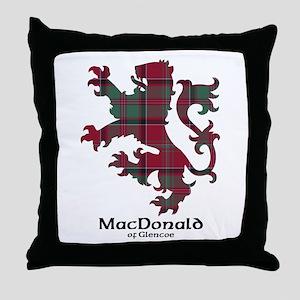 Lion - MacDonald of Glencoe Throw Pillow