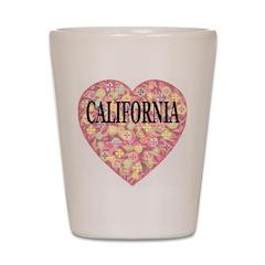California Shot Glass