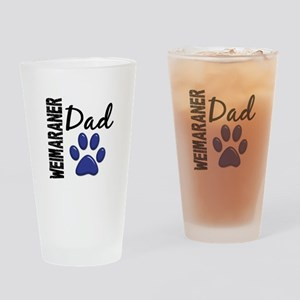 Weimaraner Dad 2 Drinking Glass