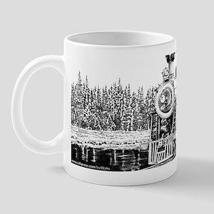 Snow Train Mug