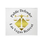 Pub Def Retreat Throw Blanket