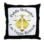 Pub Def Retreat Throw Pillow
