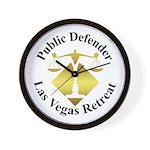 Pub Def Retreat Wall Clock