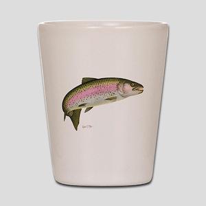 Rainbow Trout Shot Glass